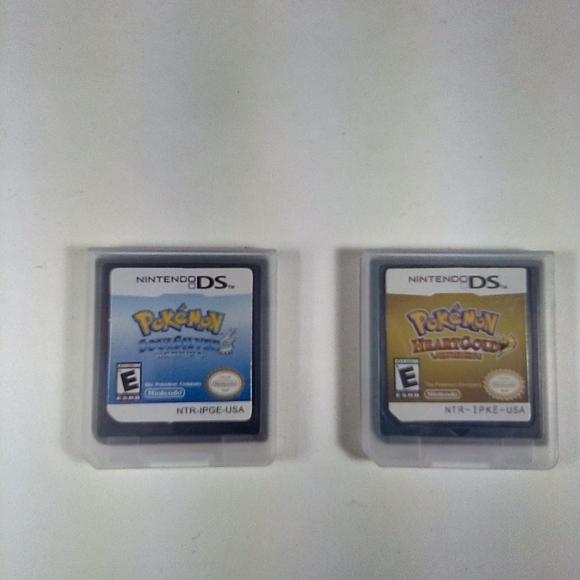 Pokemon Soulsilver and Heartgold